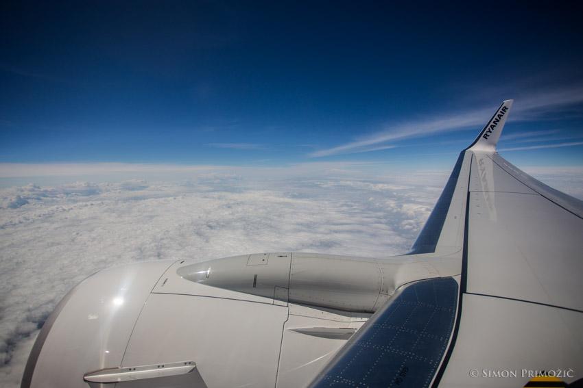Vreme nad oblaki je vedno krasno :)