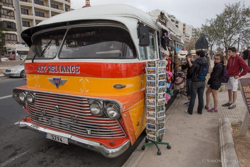 Old Malta bus